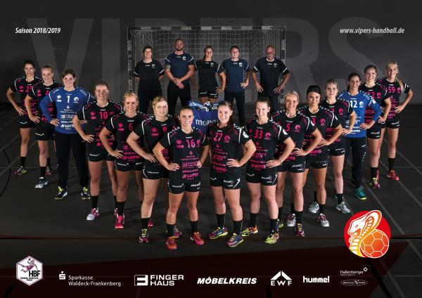 HBF1-Team - HSG Bad Wildungen Vipers 2018/19
