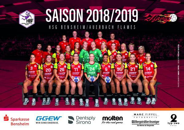 Team HBF1 - HSG Bensheim/Auerbach 2018/19