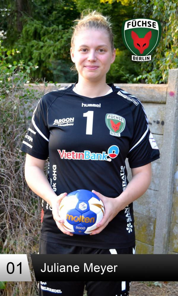 Juliane Meyer - Füchse Berlin 2018/19