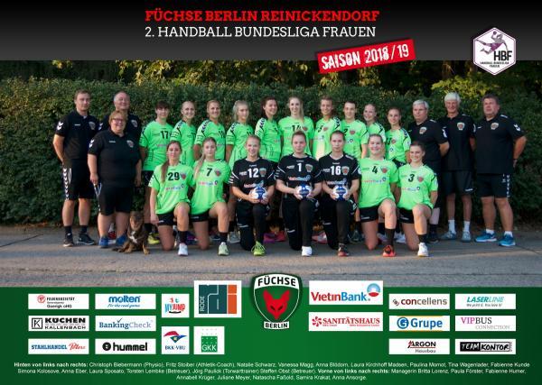Team HBF2 - Füchse Berlin 2018/19