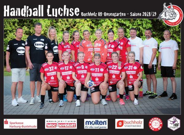 Team HBF2 - HL Buchholz 08 - Rosengarten 2018/19