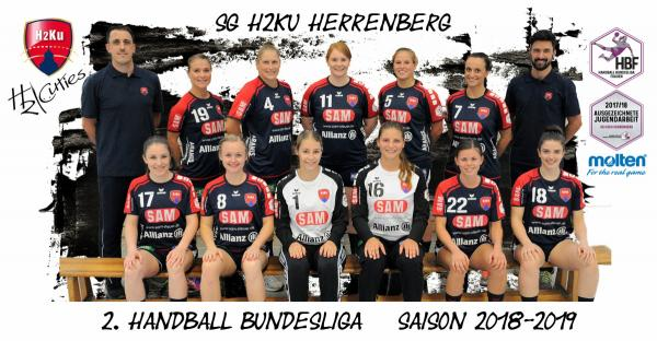 HBF2 Team - SG H2Ku Herrenberg 2018/19