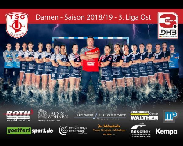 Team TSG Eddersheim, 3. Liga Ost 2018/19