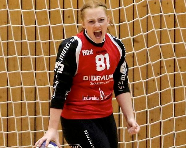 Kirchhof-Torhüterin Paula Küllmer parierte 17 Würfe der Gäste.