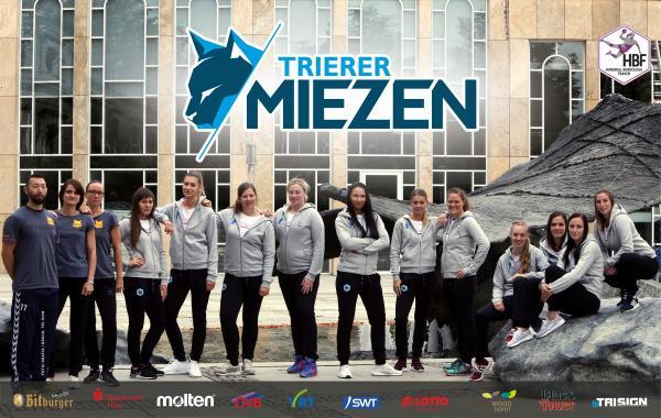 Teamfoto DJK/MJC Trier Miezen - HBF2 2018/19