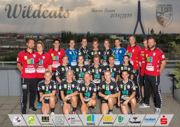 SV Union Halle-Neustadt, Teamfoto HBF1 2018/19