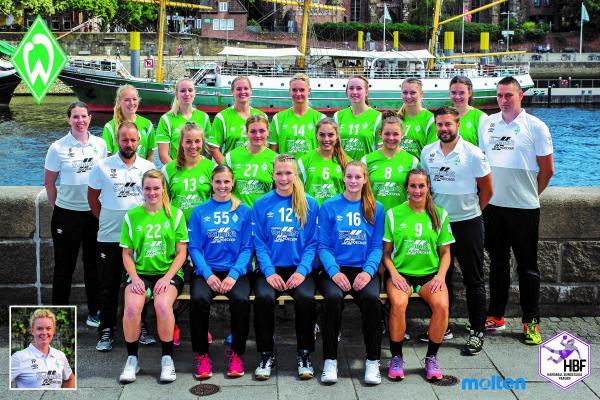 SV Werder Bremen - Teamfoto HBF2 2018/19