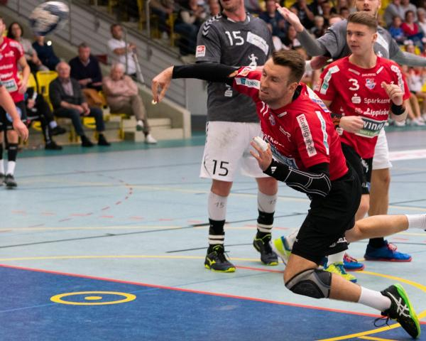 Felix Bahrenberg holte Big Points mit dem Team HandbALL Lippe II