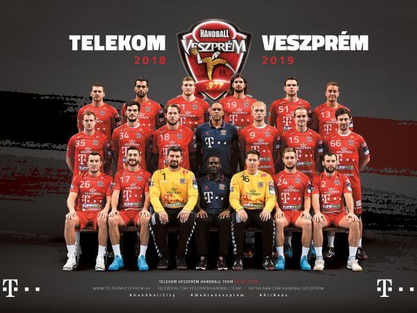 Telekom Veszprem, Champions-League-Saison 2018/19
