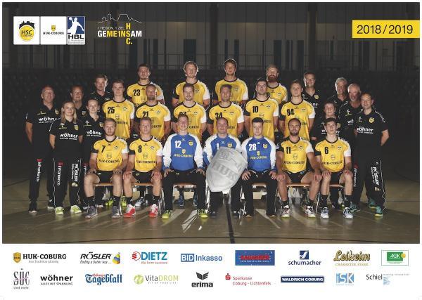 HSC 2000 Coburg, HSC Coburg, Saison 2018/19