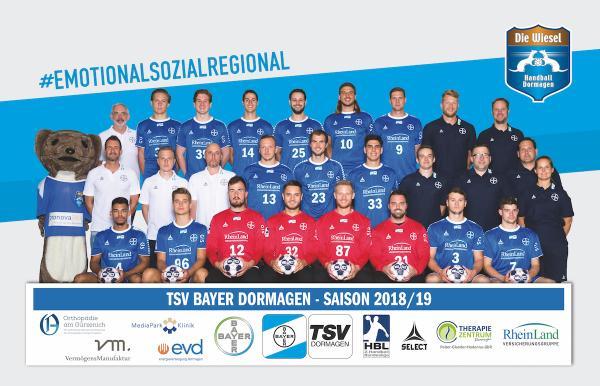 TSV Bayer Dormagen, Saison 2018/19