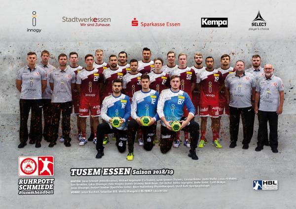 TuSEM Essen, Saison 2018/19