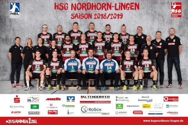 HSG Nordhorn-Lingen, Saison 2018/19