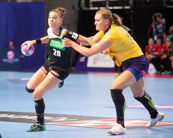 Emily Bölk unterlag mit dem deutschen Team gegen Rumänien