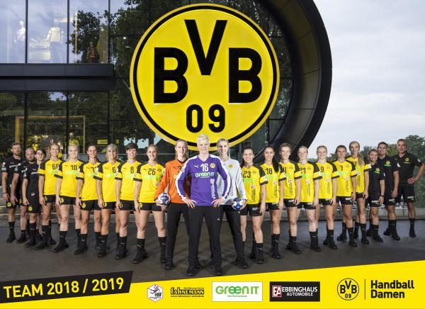 Borussia Dortmund - aktualisiertes Teamfoto 2018/19