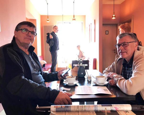 Trainerlegenden Rainer Osmann Und Hans Meyer Am Sonntag In Vacha