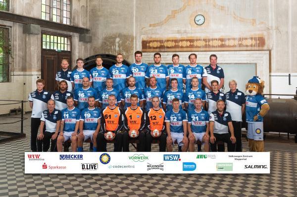 Bergischer HC, Mannschaftsfotos Liqui Moly Handball-Bundesliga, Mannschaftsfotos Saison 2019/2020, Mannschaftsfotos 1. Handball-Bundesliga