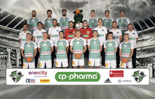 TSV Hannover-Burgdorf, Die Recken, Mannschaftsfotos Liqui Moly Handball-Bundesliga, Mannschaftsfotos Saison 2019/2020, Mannschaftsfotos 1. Handball-Bundesliga