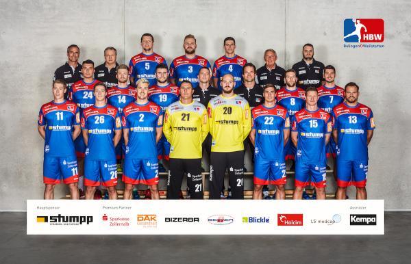 HBW Balingen-Weilstetten, Mannschaftsfotos Liqui Moly Handball-Bundesliga, Mannschaftsfotos Saison 2019/2020, Mannschaftsfotos 1. Handball-Bundesliga