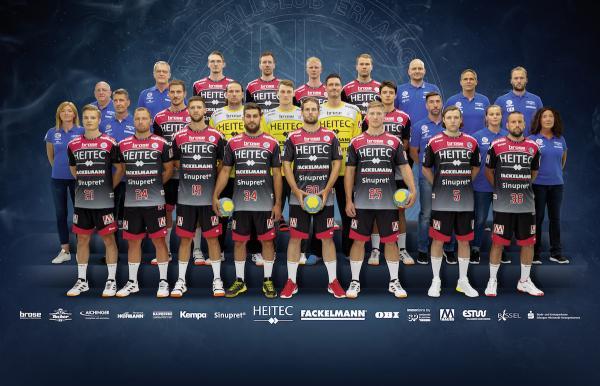 HC Erlangen, Mannschaftsfotos Liqui Moly Handball-Bundesliga, Mannschaftsfotos Saison 2019/2020, Mannschaftsfotos 1. Handball-Bundesliga