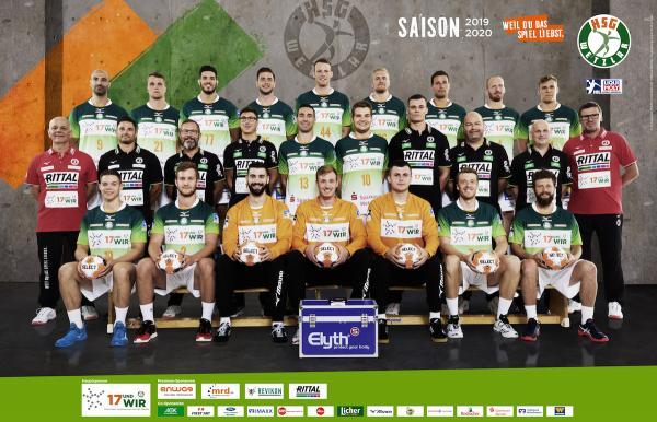 HSG Wetzlar, Mannschaftsfotos Liqui Moly Handball-Bundesliga, Mannschaftsfotos Saison 2019/2020, Mannschaftsfotos 1. Handball-Bundesliga