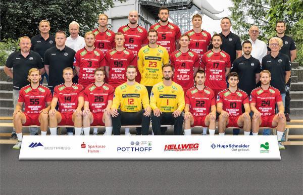 ASV Hamm-Westfalen, Mannschaftsfoto 2. Bundesliga Saison 2019/2020