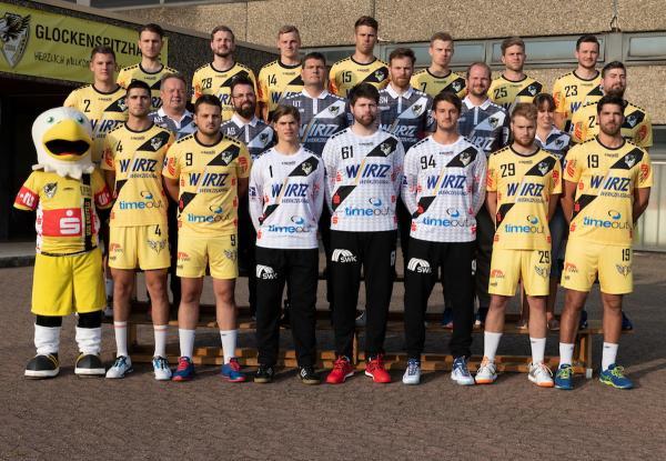 HSG Krefeld, Mannschaftsfoto 2. Bundesliga Saison 2019/2020