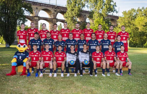 SG BBM Bietigheim, Mannschaftsfoto 2. Bundesliga Saison 2019/2020