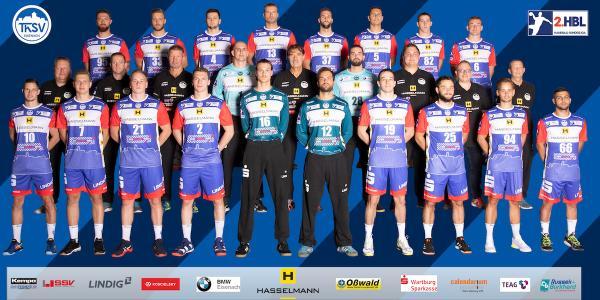 ThSV Eisenach, Mannschaftsfoto 2. Bundesliga Saison 2019/2020