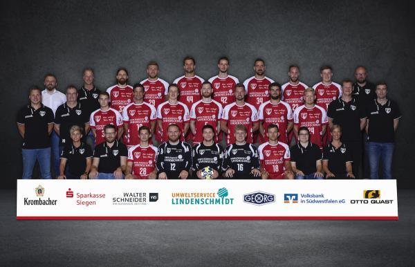 TuS Ferndorf, Mannschaftsfoto 2. Bundesliga Saison 2019/2020