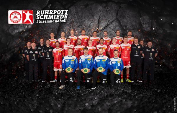 TuSEM Essen, Mannschaftsfoto 2. Bundesliga Saison 2019/2020