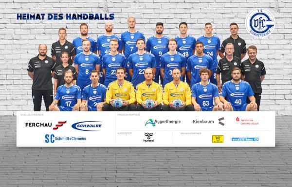 VfL Gummersbach, Mannschaftsfoto 2. Bundesliga Saison 2019/2020