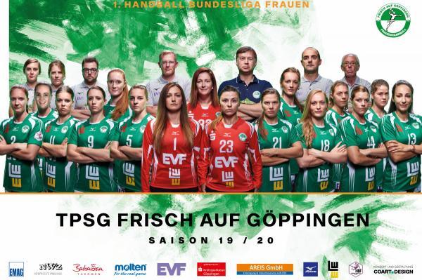 Teamfoto - Frisch Auf Göppingen 2019/20 - HBF 2019/20
