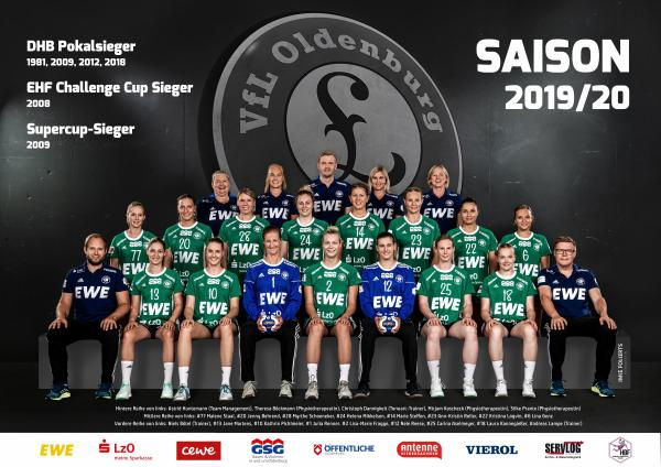 Team - VfL Oldenburg 2019/20 - HBF 2019/20