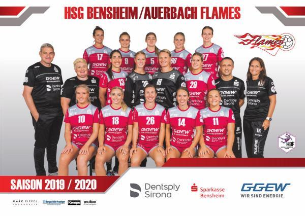 Team - HSG Bensheim/Auerbach 2019/20 - HBF 2019/20