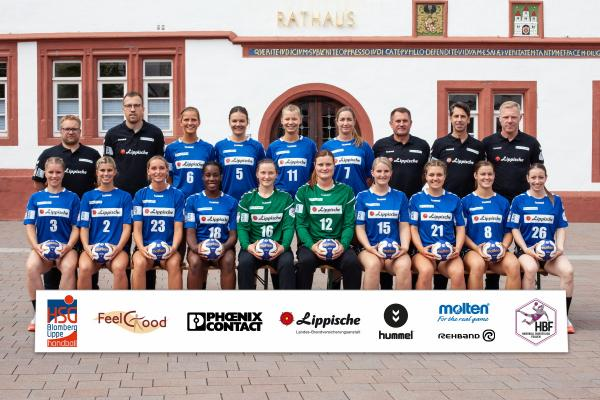 Team - HSG Blomberg-Lippe 2019/20 - HBF 2019/20