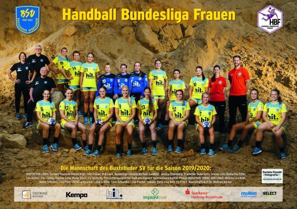Team - Buxtehuder SV 2019/20 - HBF 2019/20