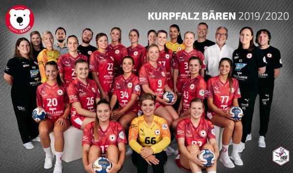 Team - Kurpfalz Bären TSG Ketsch 2019/20 - HBF 19/20