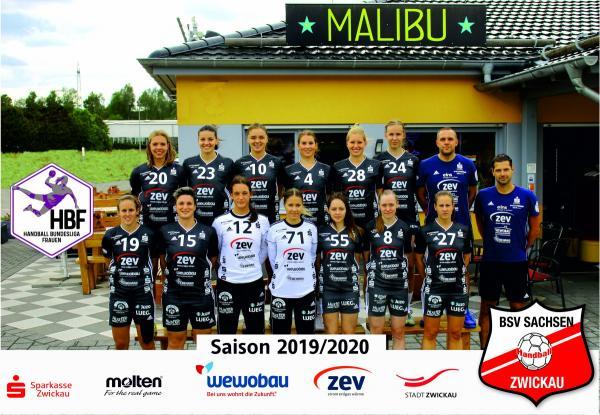 Team - BSV Sachsen Zwickau 2019/20 - HBF2 2019/20