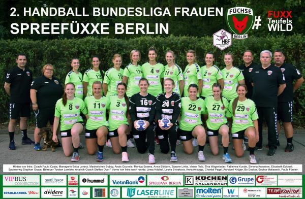 Team - Füchse Berlin 2019/20 - HBF2 2019/20