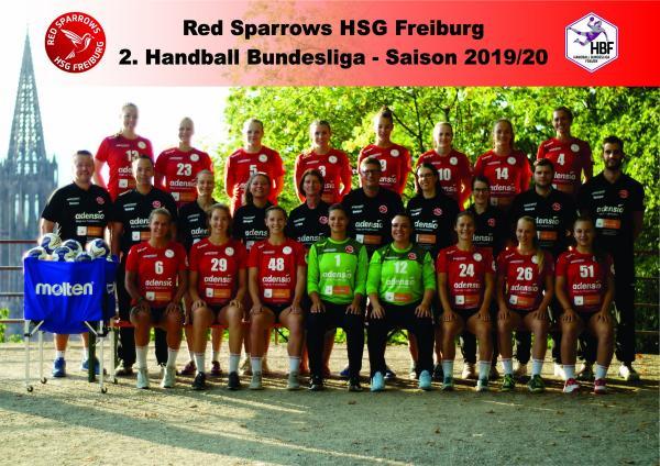 Team - HSG Freiburg 2019/20 - HBF2 2019/20