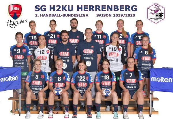 Team - SG H2Ku Herrenberg 2019/20 - HBF2 2019/20