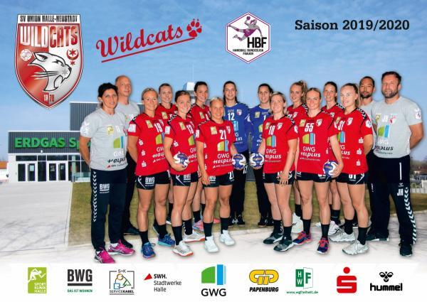 Team - SV Union Halle-Neustadt 2019/20 - HBF2 2019/20