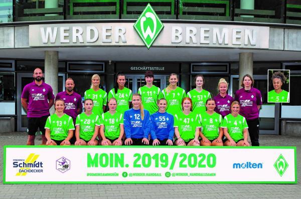 Team - SV Werder Bremen 2019/20 - HBF2 2019/20