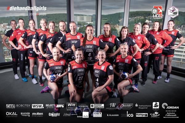 Team - TVB Wuppertal 2019/20 - HBF2 2019/20