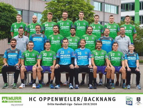 HC Oppenweiler/Backnang, HCOB, Saison 2019/2020