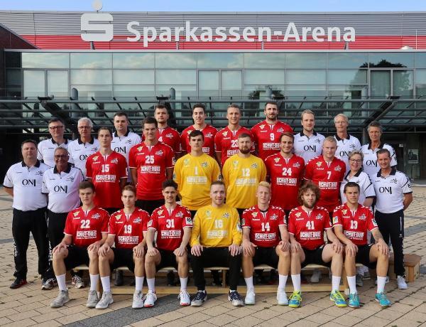 OHV Aurich, Mannschaftsfoto 2019/2020, 3. Liga