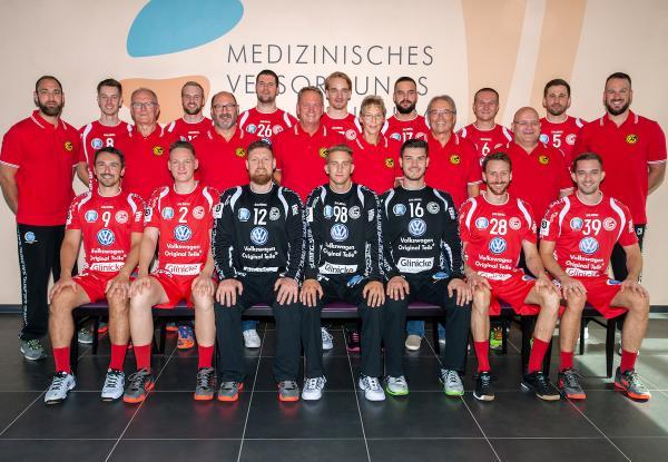 GSV Eintracht Baunatal, Mannschaftsfoto 2019/2020, 3. Liga