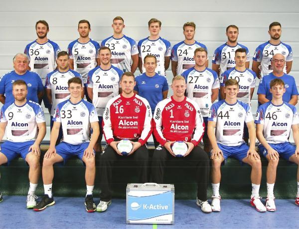 TV Großwallstadt, Mannschaftsfoto 2019/2020, 3. Liga