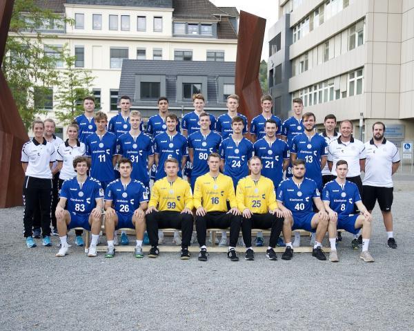 Vfl Gummersbach II, Mannschaftsfoto 2019/2020, 3. Liga